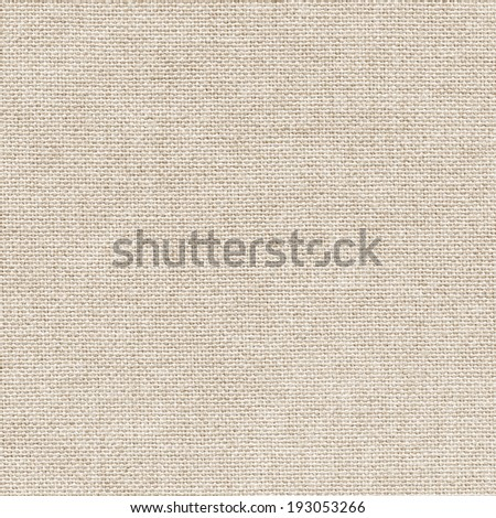 Clean light burlap texture - stock photo