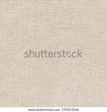 Clean light burlap texture - stock photo