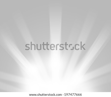 Clean Light Rays Glowing Backdrop - stock photo