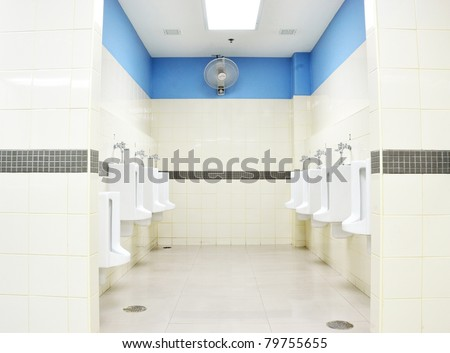 how to clean toilet room