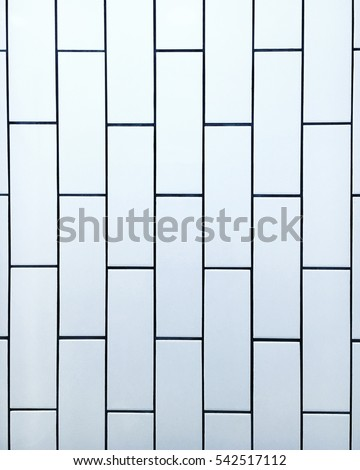 Clean Minimalistic Subway Tile Wall Background