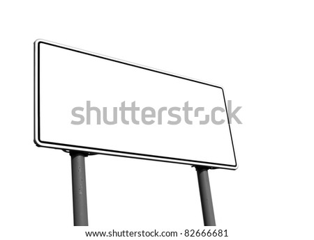 clean road table - stock photo