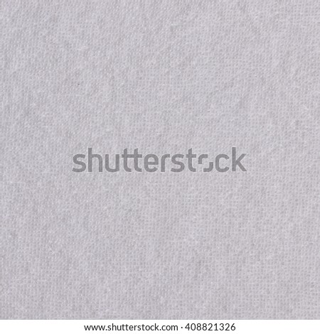 Clean white paper towel texture close up