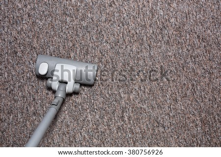 cleaning the house - stock photo