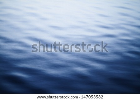 Clear blue sea - abstract background