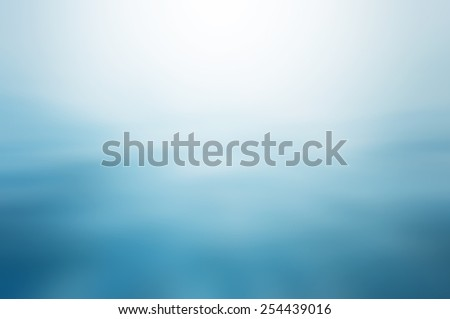 Clear blue water, seascape ripple abstract in blurred background concept - stock photo