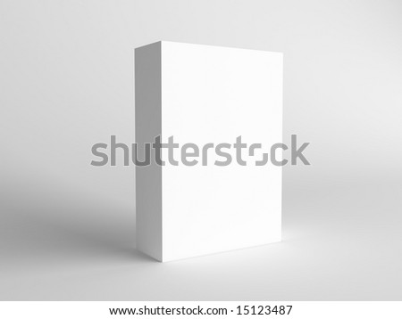 clear box - stock photo