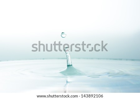clear drop water