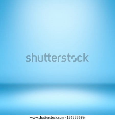 Clear empty photographer  studio background. - stock photo
