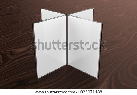 Clear plastic and acrylic table talkers promotional upright menu table tent top sign holder table menu & Clear Plastic Acrylic Table Talkers Promotional Stock Illustration ...
