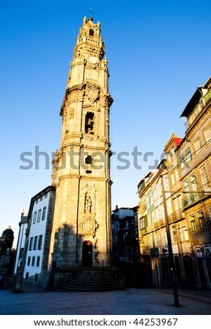 Clerigos church (Igreja dos Clerigos), Porto, Douro Province, Portugal - stock photo