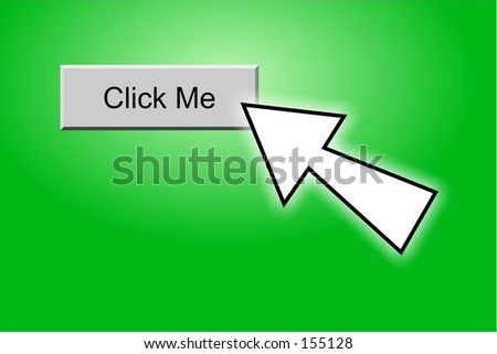 click me button - stock photo