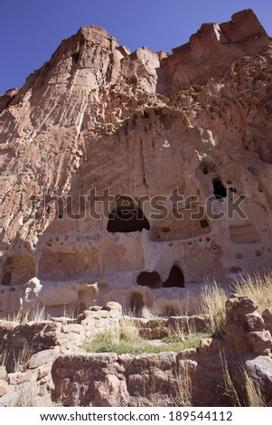 Ladder At Cliff Dwellings Stock Photos Images Amp Pictures