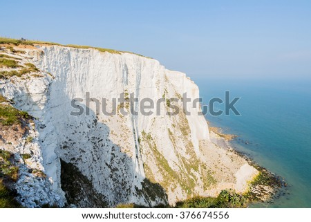 Cliffs of Mother Tourist Attraction in Ireland - stock photo