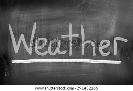 Climate Change Concept - stock photo