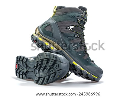 Climbing shoes - stock photo