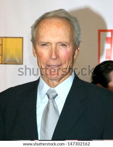 Clint Eastwood 12th Annual Critics' Choice Awards - Arrivals Santa Monica Civic Center Santa Monica, California United States January 12, 2007 - stock photo