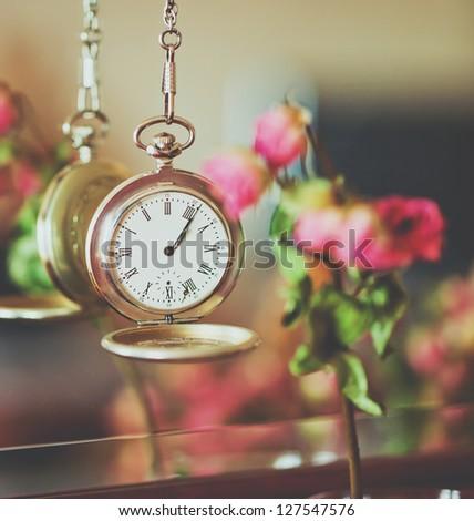 Clock - stock photo