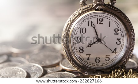 Clock and Currency