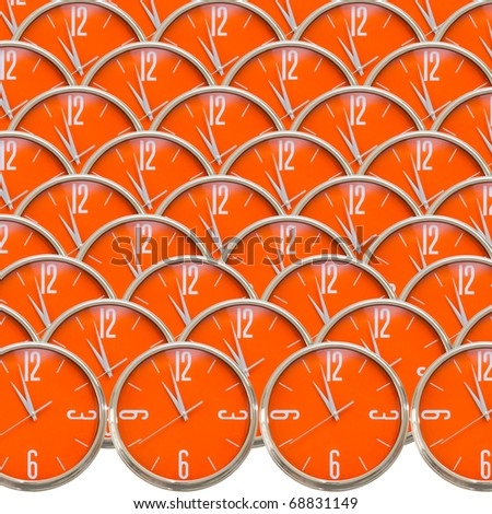 Clock collection - stock photo