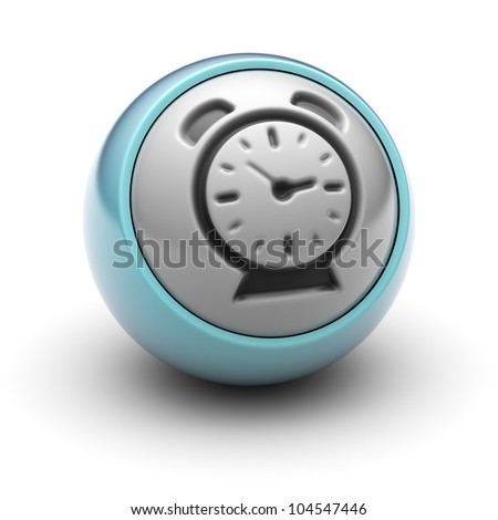 Clock  Full collection of icons like that is in my portfolio - stock photo