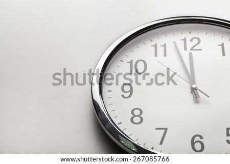 Clock, time, business. - stock photo