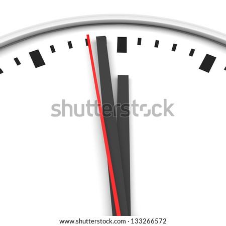 clock time watch - stock photo