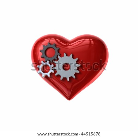 Clockwork Gears Heart