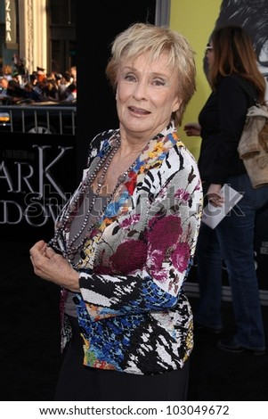 "Cloris Leachman at the ""Dark Shadows"" Los Angeles Premiere, Chinese Theater, Hollywood, CA 05-07-12"
