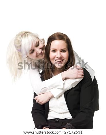 Close friends - stock photo