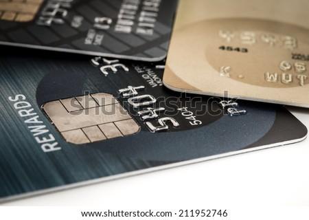 Close Up Credit Card - stock photo