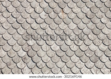 Terracotta tiles stock images royalty free images for Roof tile patterns