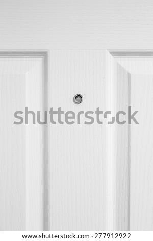 White Wood Door Texture door peephole stock images, royalty-free images & vectors