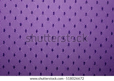 Close up fabric texture of Sofa background