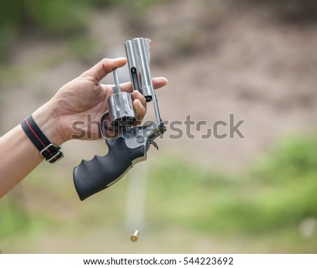 close-up grip Gun