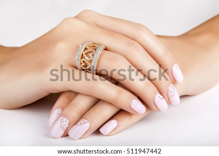 Diamond Ring Diamond Ring Isolated On Stock Photo ...