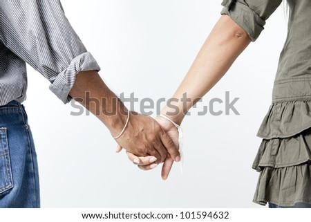 Close-up Holding Hands