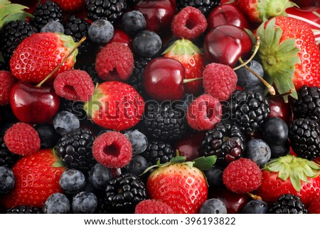 Close-up image of berries, background image