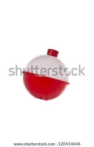 Close up image of fishing lure on white background - stock photo