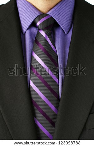 Suit Purple Tie Stock Photos, Royalty-Free Images & Vectors