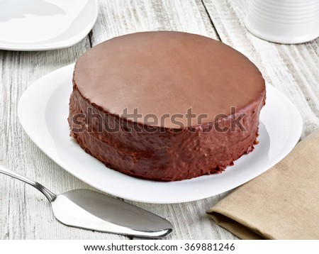 close up of a  cake - stock photo