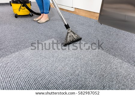 how to clean carpet without vacuum