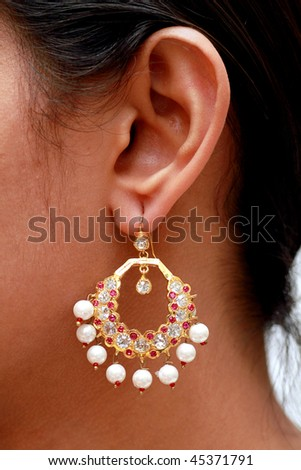 Illustrations Pictures Clip Art and Clipart of Earrings