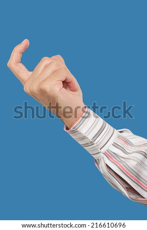 Come here gesture finger Stock Photos, Images, & Pictures ...