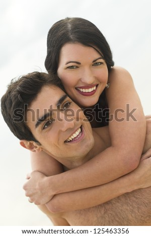 Close up of a happy couple