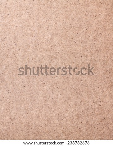 Close up of a hardboard surface