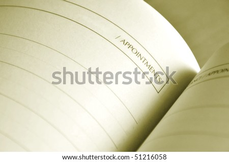 Close up of a nice designed address book blank page. - stock photo