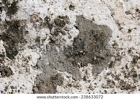 close up of a old stone wall - stock photo
