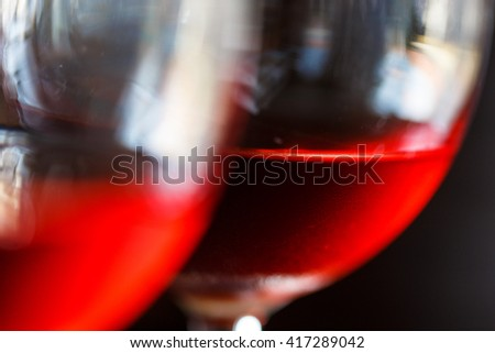 Close-up of a red wine - stock photo