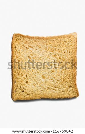 Close-up of a slice of bread